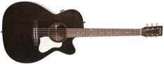 ART&Lutherie Legacy Faded Black CW QIT Elektroakustická kytara