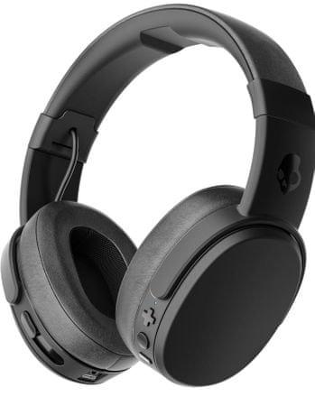 Skullcandy slušalke Crusher Wireless, S6CRW-K591, črne