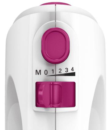 Bosch ročni mešalnik, belo-roza MFQ2210PS