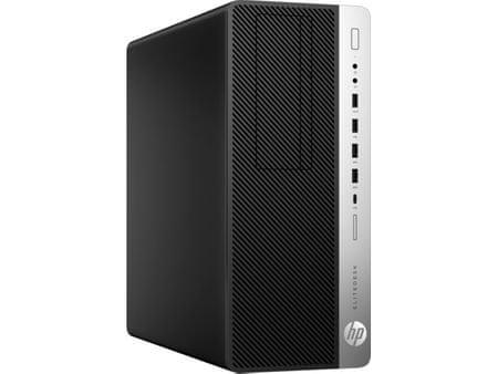 HP namizni računalnik EliteDesk 800 G3 TWR i7-7700K/16GB/512GB SSD/Radeon R7 450/W10P (1HL00EA)