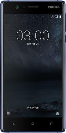Nokia mobilni telefon 3 Dual Sim, plavi