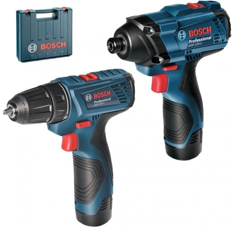 BOSCH Professional GSR 120-LI + GDR 120-LI (06019F0002)