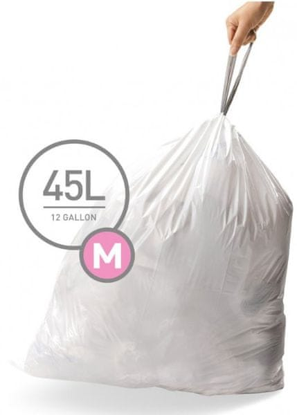 Simplehuman Sáčky do koše typ M (45 l) 60 ks