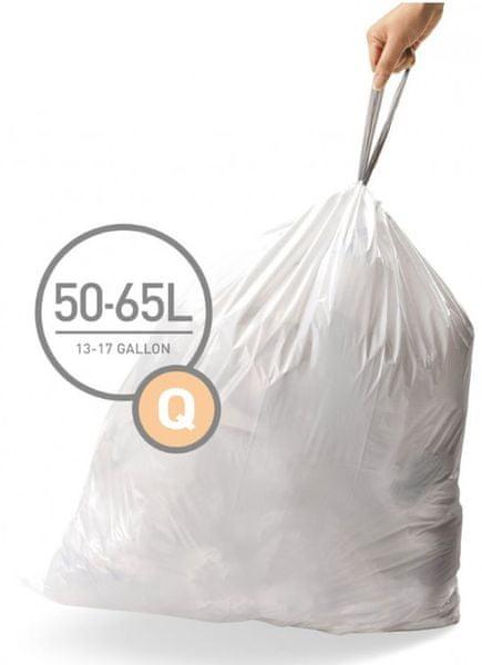 Simplehuman Sáčky do koše typ Q (50 - 65 l) 60 ks