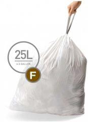 Simplehuman Vrecká do koša typ F (25 l) 60 ks