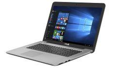Asus X756UQ-T4153D Notebook, Metálszürke