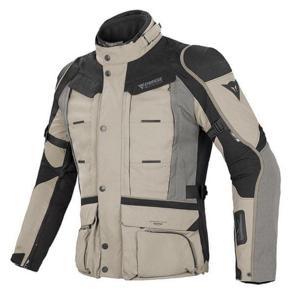 Dainese bunda D-EXPLORER GORE-TEX vel.56 písková/černá/šedá, textilní