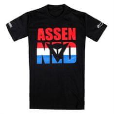 Dainese pánské triko s krátkým rukávem  ASSEN D1 černá