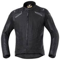 Held pánská gore-tex moto bunda  CAMARIS černá, textil/kůže