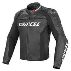 Dainese pánská kožená bunda na motorku RACING D1 PELLE černá