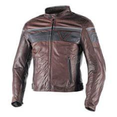 Dainese pánská kožená bunda na motorku  BLACKJACK tmavě hnědá/černá