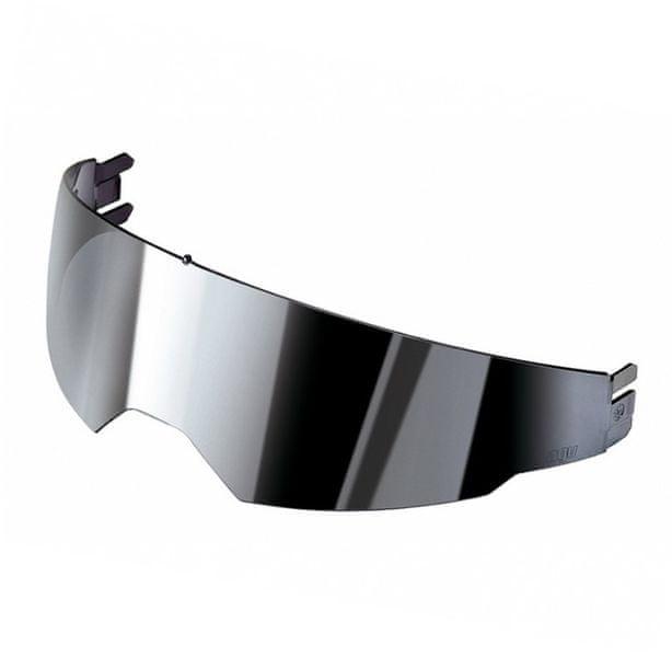 AGV sluneční clona ISV zrcadlová stříbrná pro integrální/vyklápěcí přilby