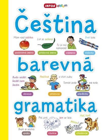 Pchálková Lenka, Reslerová Irena,: Čeština - barevná gramatika