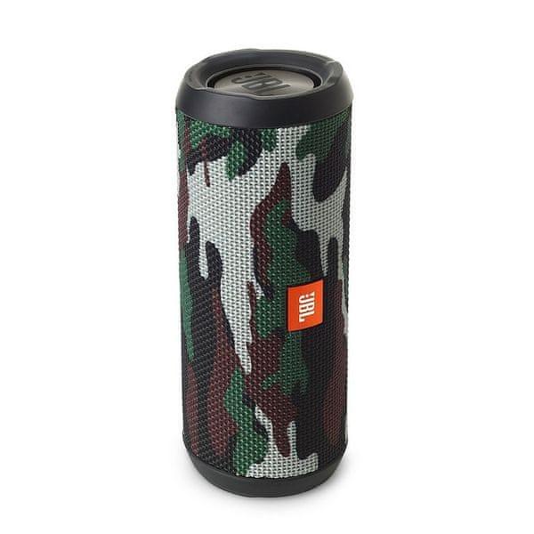 JBL Flip 4, černá/zelená