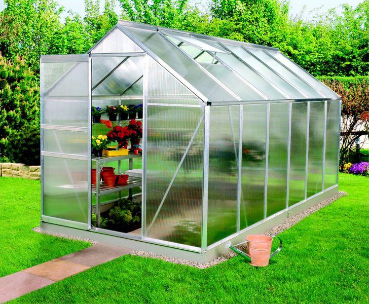 VITAVIA skleník VITAVIA VENUS 7500 PC 4 mm stříbrný