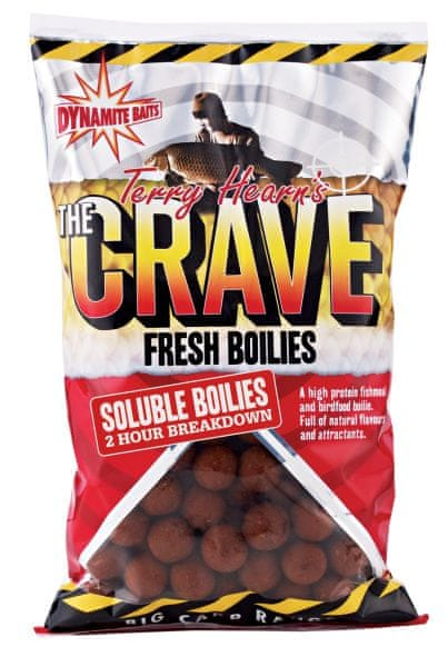 Dynamite Baits Boilies Soluble The Crave 1 kg 18 mm