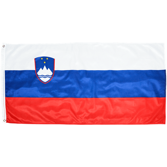Slovenska zastava (246), 140 x 70 cm