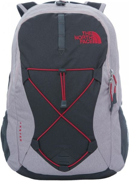 The North Face W Jester Quailgrey heather/Cerise pink