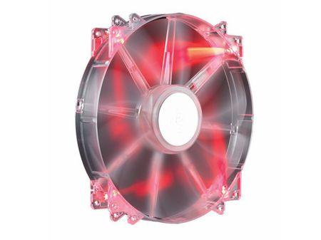 Cooler Master ventilator MegaFlow 200, rdeč