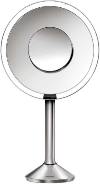 Simplehuman Senzorické kosmetické zrcátko s PRO Tru-lux LED osvětlením, 5x/10x zvětšení