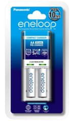 Panasonic Eneloop polnilec baterij + 2 x AA