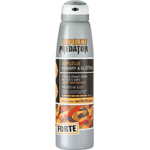 Repelent PREDATOR FORTE spray 150 ml