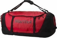 Marmot Long Hauler Duffle Bag XLarge Team Red/Black