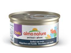 Almo Nature Daily Menu - Pisztráng darabok 24 x 85 g