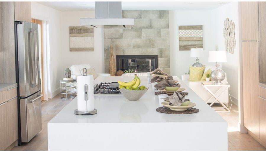 Simplehuman Držák na kuchyňské utěrky s ramenem pro role do 28 cm, rosegold