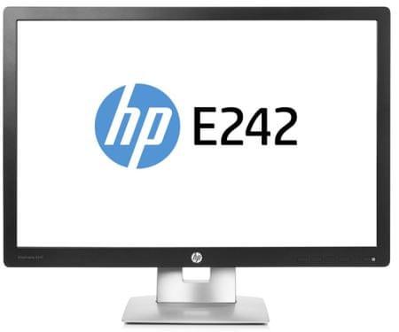 HP IPS LED monitor Elite E242 60,9cm