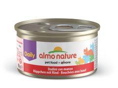 Almo Nature mokra hrana za mačke Daily Menu, govedina, 25 x 85 g