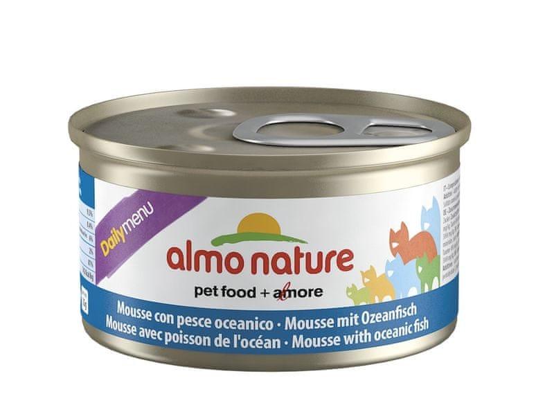 Almo Nature Daily Menu Pěna s mořskými rybami 24 x 85 g