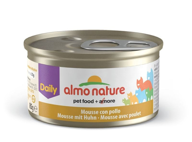 Almo Nature Daily Menu Pěna s kuřetem 24 x 85 g