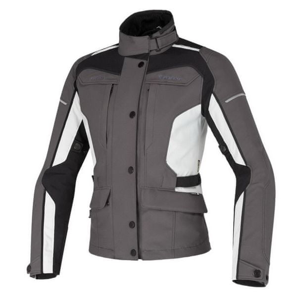 Dainese bunda dámská ZIMA LADY GORE-TEX vel.48 šedá/šedá, textil