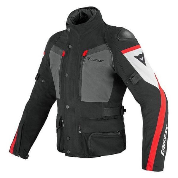 Dainese bunda CARVE MASTER GORE-TEX vel.52 černá/šedá/červená textilní