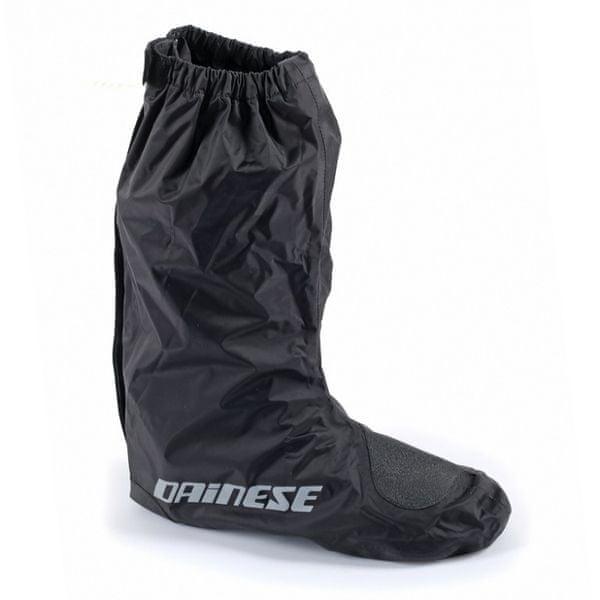 Dainese nepromokavé návleky na boty D-CRUST vel.M (vel.40-43), černé (pár)