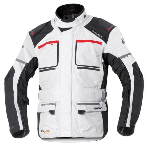 Held bunda CARESE 2 GORE-TEX vel.3XL šedá/černá, textilní