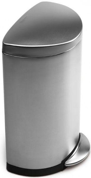 Simplehuman Pedálový odpadkový koš půlkulatý 40 l