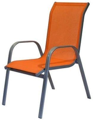 Happy Green Židle zahradní, oranžová