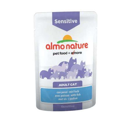 Almo Nature mačja hrana Functional WET Sensitive - riba 12 x 70 g