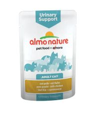 Almo Nature mačja hrana Functional WET Urinary Support - piscanec 12 x 70 g