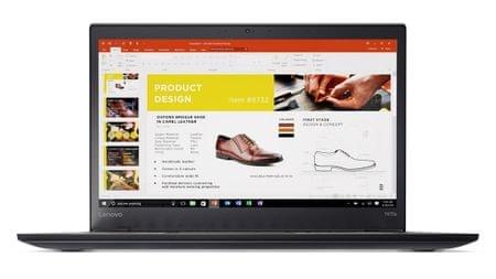Lenovo prenosnik ThinkPad T470 i5-7200U/8GB/512GB SSD/14FHD/Win10P (20HD002HSC)