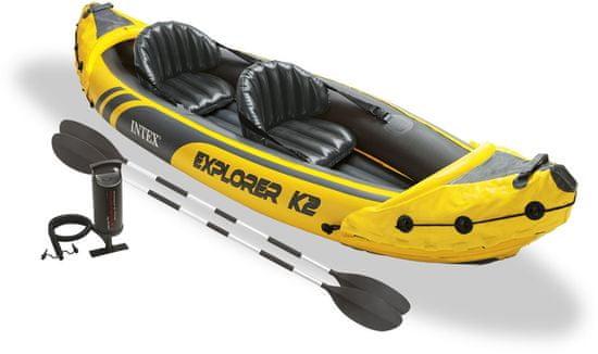 Intex kajak Explorer K2, napihljiv