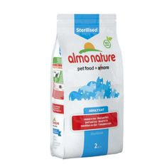 Almo Nature mačja hrana za sterilizirane mačke - govedina in riž 2kg