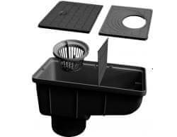 LanitPlast Geiger s klapkou černý
