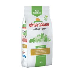 Almo Nature Functional DRY Anti-Hairball - kura a ryža 2kg