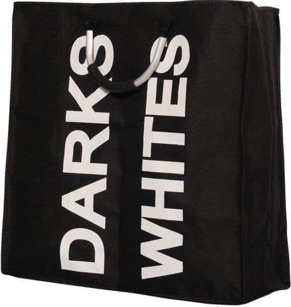 TimeLife Koš na prádlo 67 l, černá
