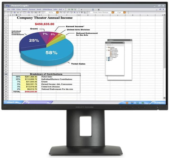 "HP Z24n - LED monitor 24"" (K7B99A4)"