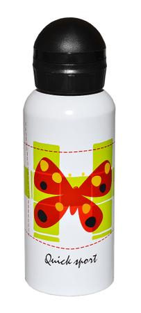 QUICK Sport láhev alu LZ400A-T Butterfly