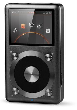 Fiio X3 DSD lejátszó DAC funkcióval, Fekete (2.generációs)